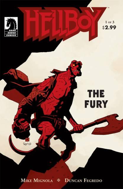 Hellboy the Fury (2011) Complete Bundle - Used