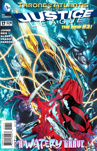 Justice League (2011 New 52) no. 17 - Used
