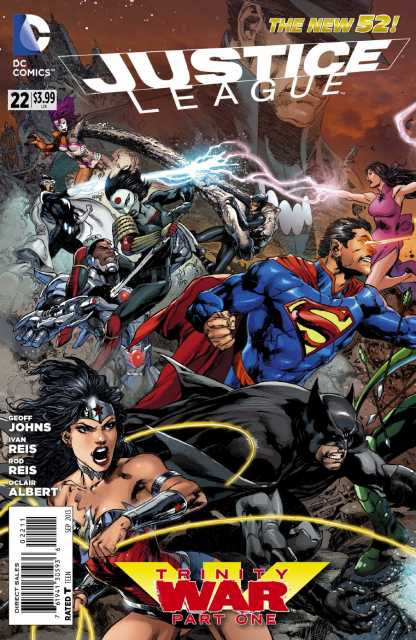 Justice League (2011 New 52) no. 22 - Used