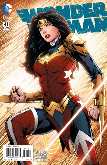 Wonder Woman (2011) no. 41 - Used