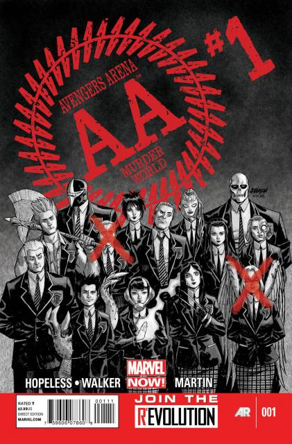 Avengers Arena (2012) no. 1 - Used