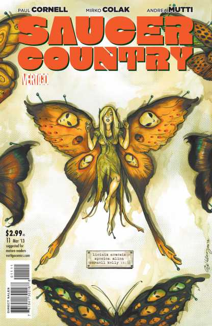 Saucer Country (2012) no. 11 - Used