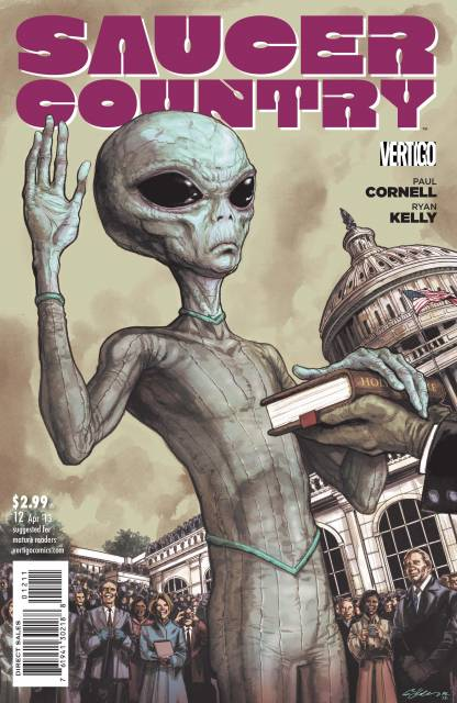 Saucer Country (2012) no. 12 - Used