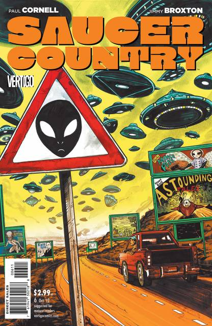 Saucer Country (2012) no. 6 - Used