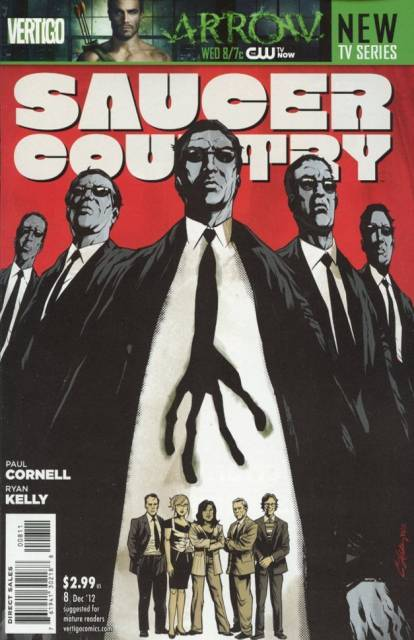 Saucer Country (2012) no. 8 - Used