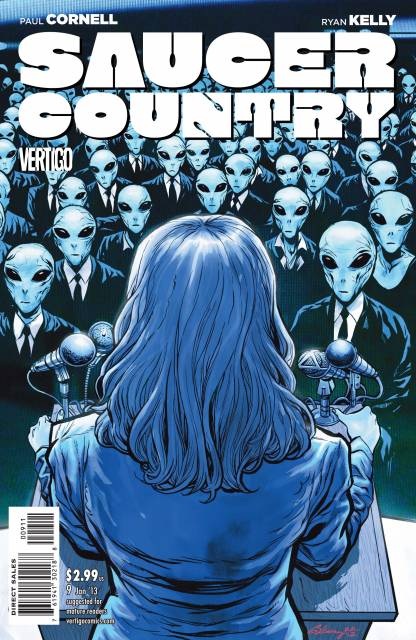 Saucer Country (2012) no. 9 - Used