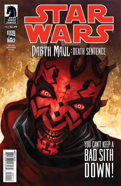 Star Wars: Darth Maul: Death Sentence (2012) Complete Bundle - Used