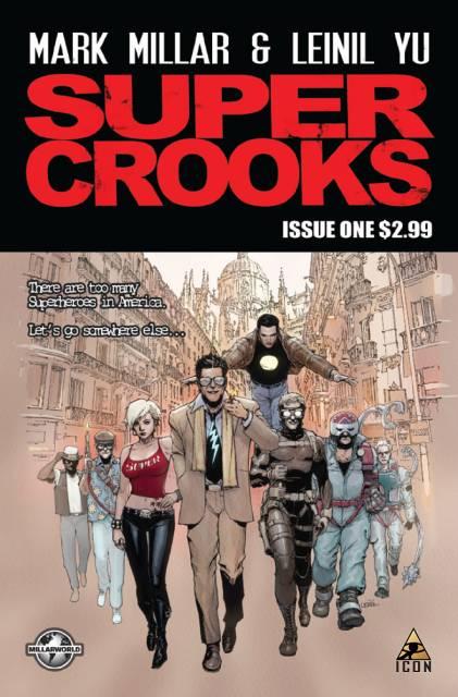 Super Crooks (2012) Complete Bundle - Used