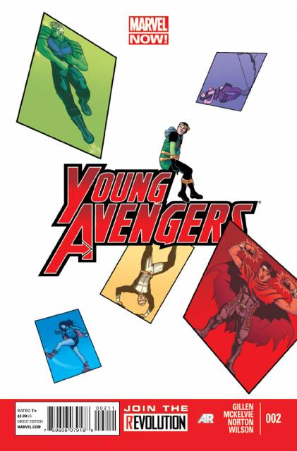 Young Avengers (2012) no. 2 - Used