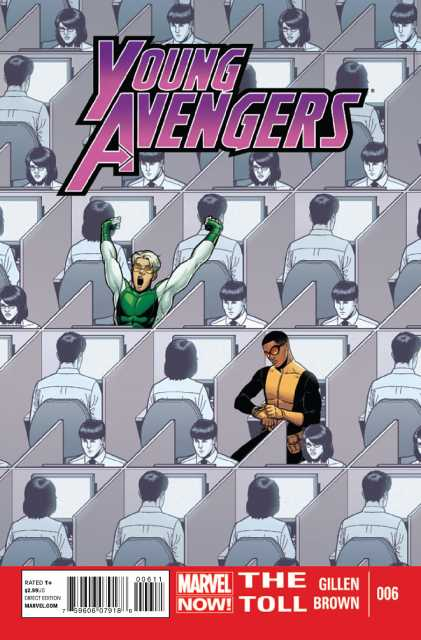 Young Avengers (2012) no. 6 - Used
