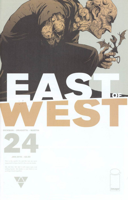 East of West (2013) no. 24 - Used