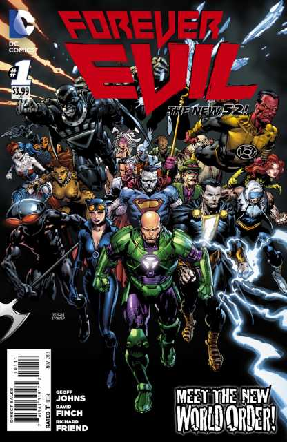 Forever Evil (2013) Complete Bundle - Used