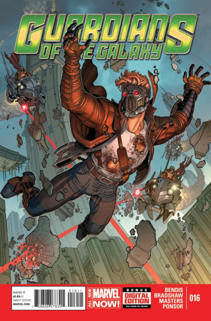 Guardians of the Galaxy (2013) no. 16 - Used