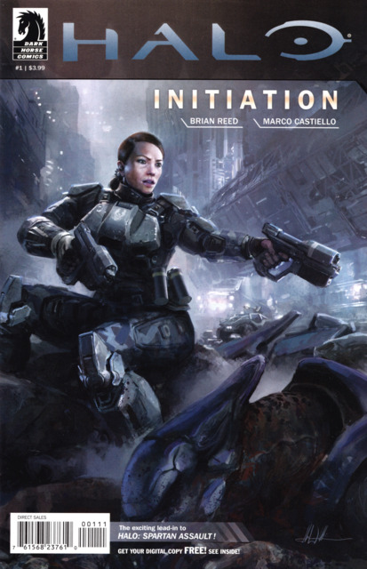 Halo Initiation (2013) Complete Bundle - Used