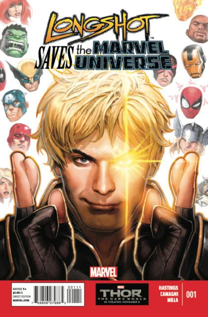 Longshot Saves the Marvel Universe (2013) Complete Bundle - Used