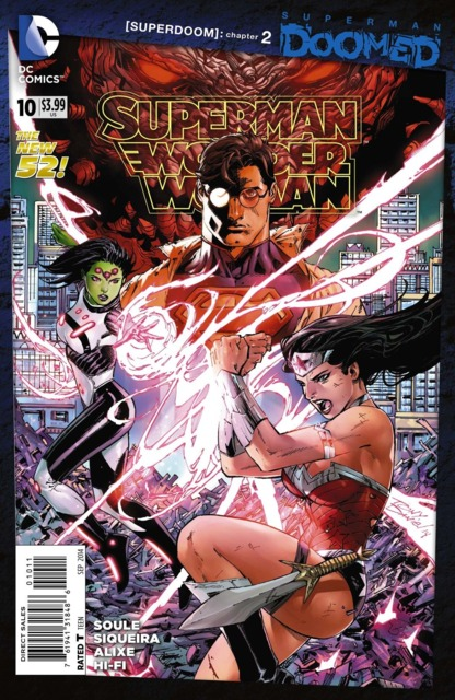 Superman Wonder Woman (2013) no. 10 - Used