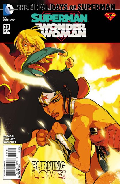 Superman Wonder Woman (2013) no. 29 - Used