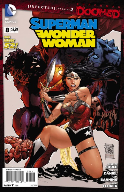 Superman Wonder Woman (2013) no. 8 - Used