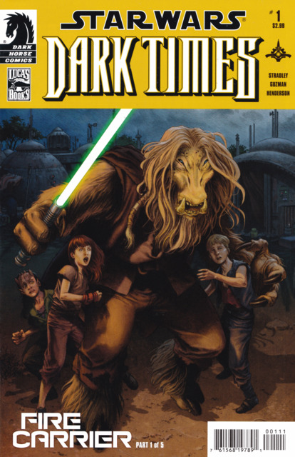 Star Wars: Dark Times: Fire Carrier (2013) Complete Bundle - Used