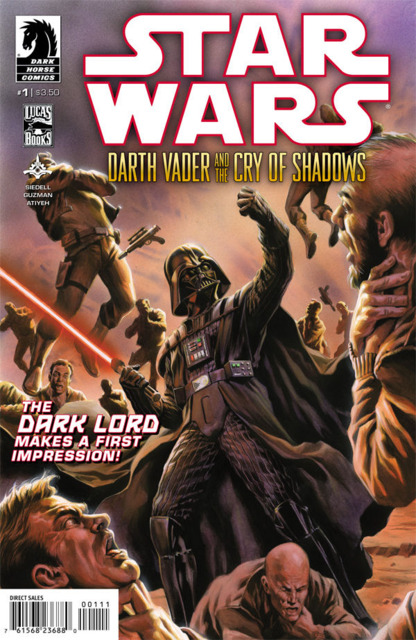 Star Wars: Darth Vader and the Cry of Shadows (2013) Complete Bundle - Used