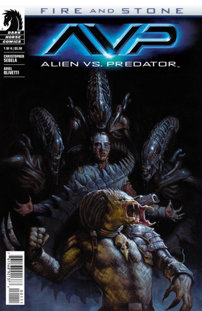 Alien Vs Predator: Fire and Stone (2014) no. 1 - Used