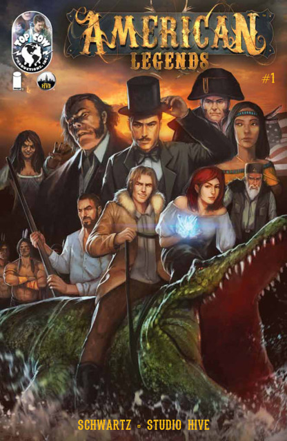 American Legends (2014) Complete Bundle - Used