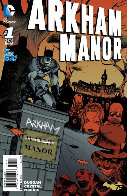 Arkham Manor (2014) Complete Bundle - Used