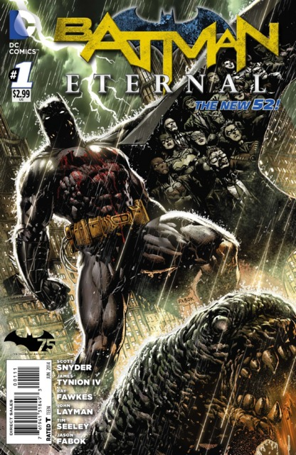 Batman Eternal (2014 New 52) no. 1 - Used