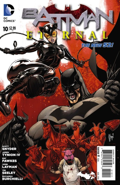 Batman Eternal (2014 New 52) no. 10 - Used