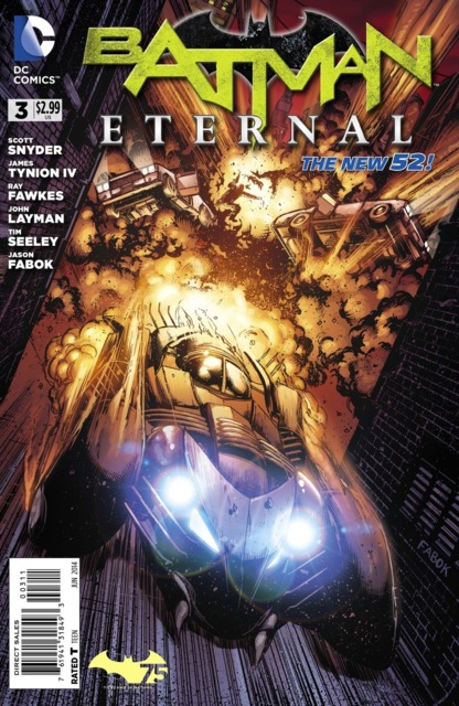 Batman Eternal (2014 New 52) no. 3 - Used