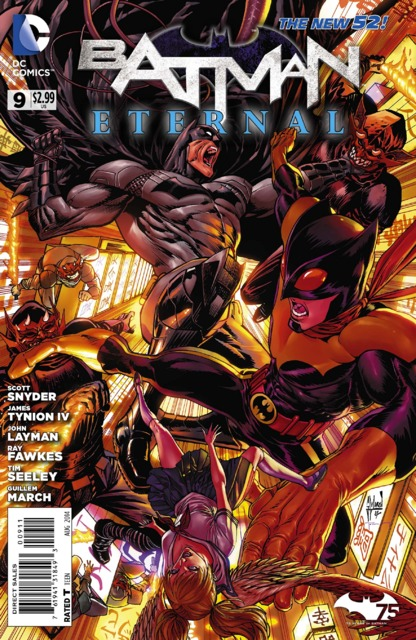 Batman Eternal (2014 New 52) no. 9 - Used
