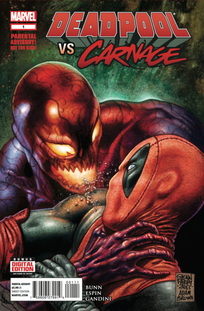 Deadpool Vs Carnage (2014) Complete Bundle - Used