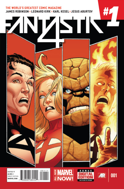 Fantastic Four (1961) Volume 5 (2014) no. 1 - Used