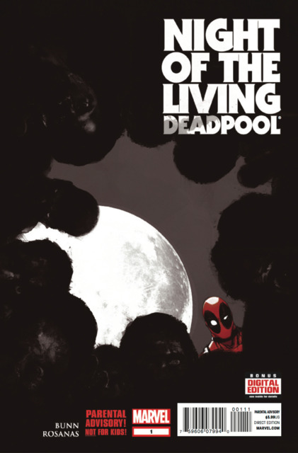 Night of the Living Deadpool (2014) Complete Bundle - Used