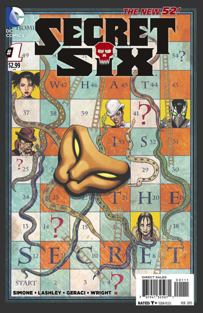Secret Six (2014) no. 1 - Used