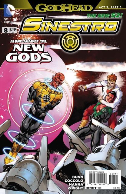Sinestro (2014) no. 8 - Used