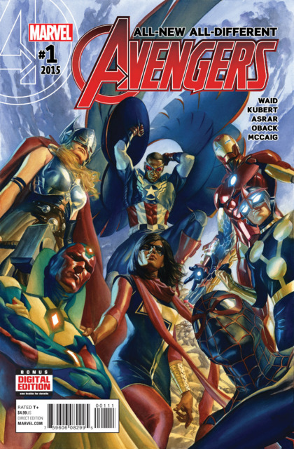All New All Different Avengers (2015) no. 1 - Used