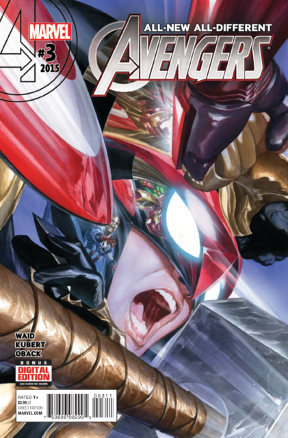 All New All Different Avengers (2015) no. 3 - Used