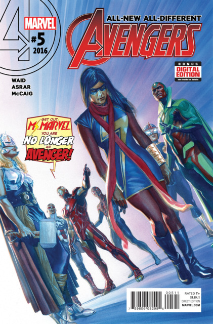 All New All Different Avengers (2015) no. 5 - Used