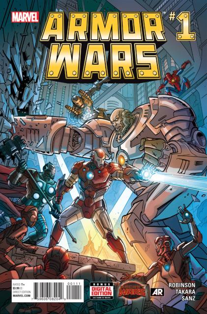 Armor Wars (2015) Complete Bundle - Used