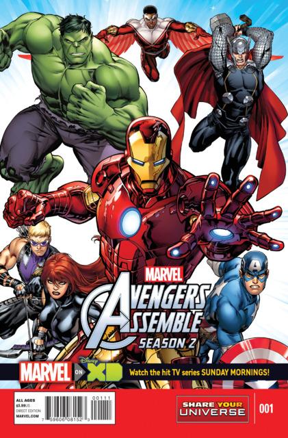 Avengers Assemble Season 2 (2015) no. 1 - Used