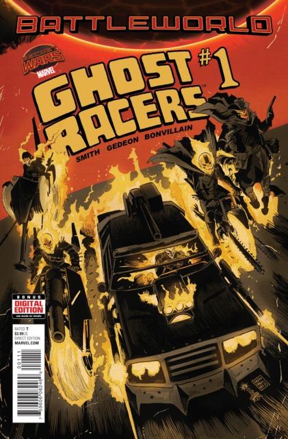 Battleworld: Ghost Racers (2015) Complete Bundle - Used