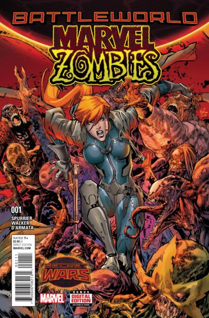Battleworld: Marvel Zombies (2015) Complete Bundle - Used