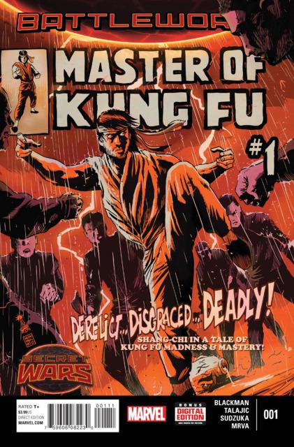 Battleworld: Master of Kung Fu (2015) Complete Bundle - Used