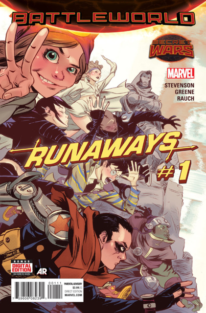 Battleworld: Runaways (2015) Complete Bundle - Used