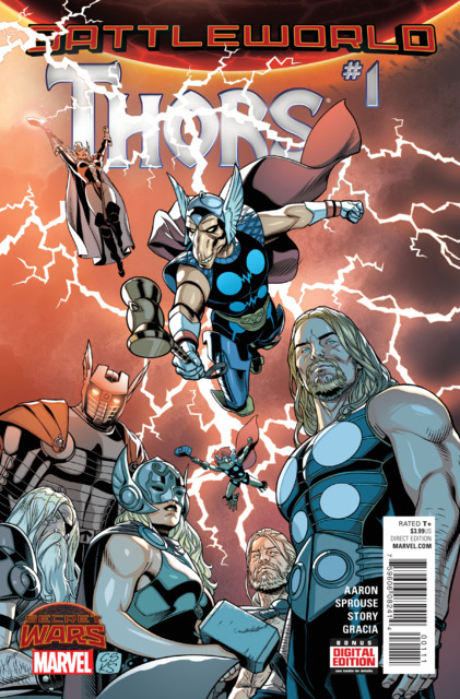 Battleworld: Thors (2015) Complete Bundle - Used