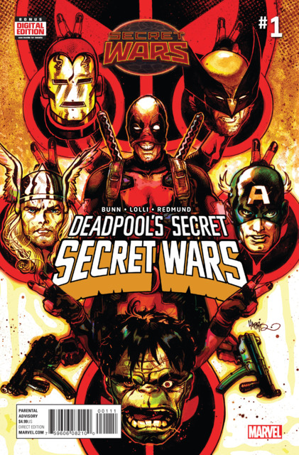Deadpool's Secret Secret Wars (2015) Complete Bundle - Used