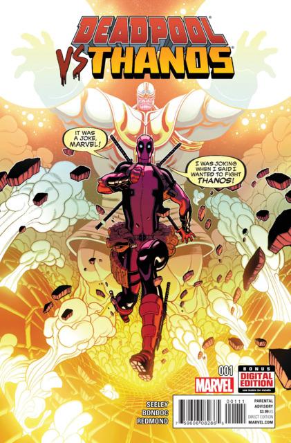 Deadpool Vs Thanos (2015) Complete Bundle - Used
