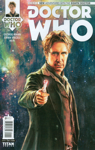 Doctor Who The Eighth Doctor Season 1 (2015) Complete Bundle - Used