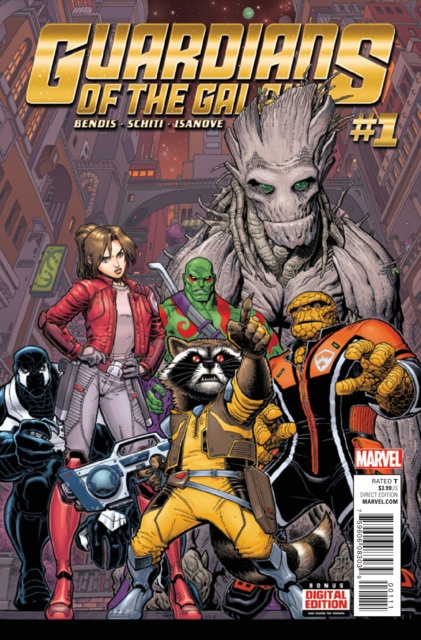 Guardians of the Galaxy (2015) no. 1 - Used